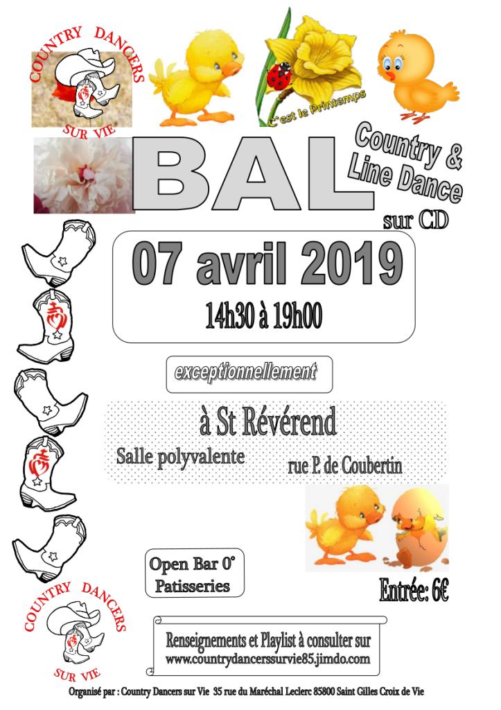 Affiche bal 070419